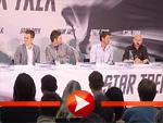 Simon Pegg und Zoe Saldana über Star Trek