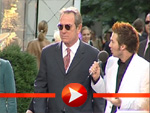 Tommy Lee Jones ganz cool, bei der Men in Black II Premiere