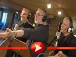 Udo Walz, Rene Koch und Andy Moor zusammen im Tonstudio