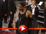 Will Smith mit Muskelshirt bei der Men in Black II Premiere in Berlin