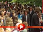 Zac Efrons Ankunft im Sony Center