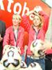 Ran an die Bälle: Drei Weltmeisterinnen in Aktion!