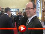 EXKLUSIV:: Fürst Albert berichtet uns über seinen Berlin-Besuch!