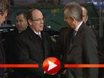 Fürst Albert II. von Monaco trifft in Berlin ein