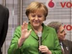Angela Merkel: Spaß auf der CeBIT
