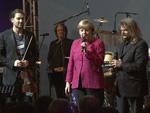 David Garrett und Leslie Mandoki: Rocken für Kanzlerin Angela Merkel