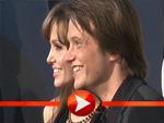 Angelina Jolie posiert mit August Diehl