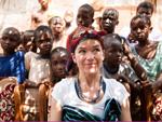 Anke Engelke: Kein Kind soll an Malaria sterben!