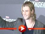 "Chris Hemsworth posiert für ""The Avengers"""