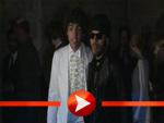Lenny Kravitz und Noah Gabriel Becker