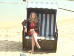 Barbara Schöneberger: Was macht sie im Strandbad?