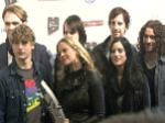 Warum kuschelt Tim Bendzko mit Barbara Schöneberger und Silbermond?: Echo Pressekonferenz 2012