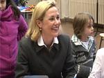 First Lady Bettina Wulff: Schulbesuch für Unicef!