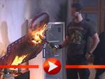 Bloodhound Gang verwüstet Fernsehstudio