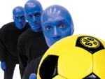 Die Blue Man Group: Rockt das Westfalen-Stadion!