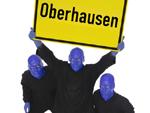 Auch Oberhausen wird Blau!: Die Blue Man Group kommt ins Ruhrgebiet