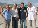 Was macht Boris Becker mit Sabine Christiansen in Haiti?