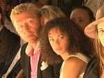 Boris Becker auf der Fashion Week: Seine Lilly raucht!