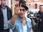 Bruno Mars: Auf Shopping-Tour in Berlin!