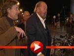 Bud Spencer wird am Kino Babylon begrüßt
