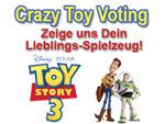 Toy Story 3: TIKonline.de startet das Crazy Toy Voting