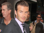David Beckham: Bewaffneter Personenschutz