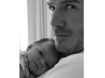 David Beckham: Neues Foto mit Tochter Harper