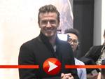 David Beckham über seinen Unterwäschespot und Guy Ritchie