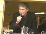 David Hasselhoff: Talkt in Schweden