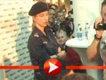 Polizeischutz für David Hasselhoff
