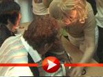 Fans nehmen die Verfolgung von David Hasselhoff auf