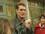 David Hasselhoff: Schuld war sein Ohr