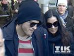 Ringelpulli-Alarm: Ashton Kutcher und Demi Moore lässig in Berlin!