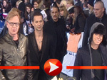 Depeche Mode auf dem Lila Teppich des ECHO 2009