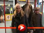 Diane Kruger im Winterlook am Flughafen erwischt!