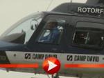 Dieter Bohlen schwebt im Hubschrauber zu Fashion Week ein