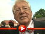 Dieter Thomas Heck bewundert den Popo der Queen