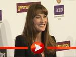Carla Bruni ohne Sarkozy, dafür im Hosenanzug beim Echo 2013