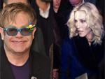 Elton John und Madonna: Haben sich wieder lieb