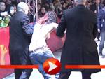 FEMEN-Aktivistinnen protestieren halbnackt auf der Berlinale