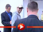 George Michael: Im Jogginganzug am Flughafen Leipzig