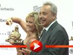 Helene Fischer und Wolfgang Stumph mit Goldener Henne