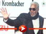 Morgan Freeman kam mit Sonnenbrille zur Goldenen Kamera