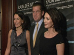 Iris Berben, Anne Will und Minister zu Guttenberg: Charity-Dinner für das Holocaust Denkmal