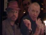 Guy Ritchie und Robert Downey Jr.: Lassen es sich in Berlin schmecken