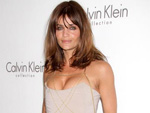 Helena Christensen: Besorgte Mutter