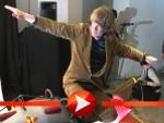 Helge Schneider fliegt Rakete