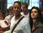 Jermaine Jackson: Ankunft zur Werbetour in Berlin!