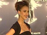 Jessica Alba: Ein Gürtel gegen Babyspeck