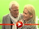 Joachim Fuchsberger posiert mit Maite Kelly